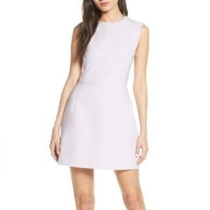 French Connection Sundae Stretch Minidress (White)